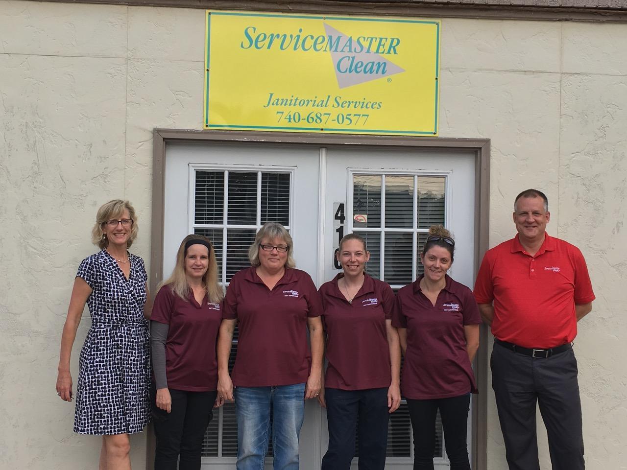 ServiceMaster crew with Teresa 2